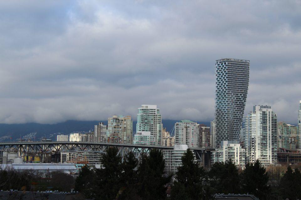 Vancouver House on skyline