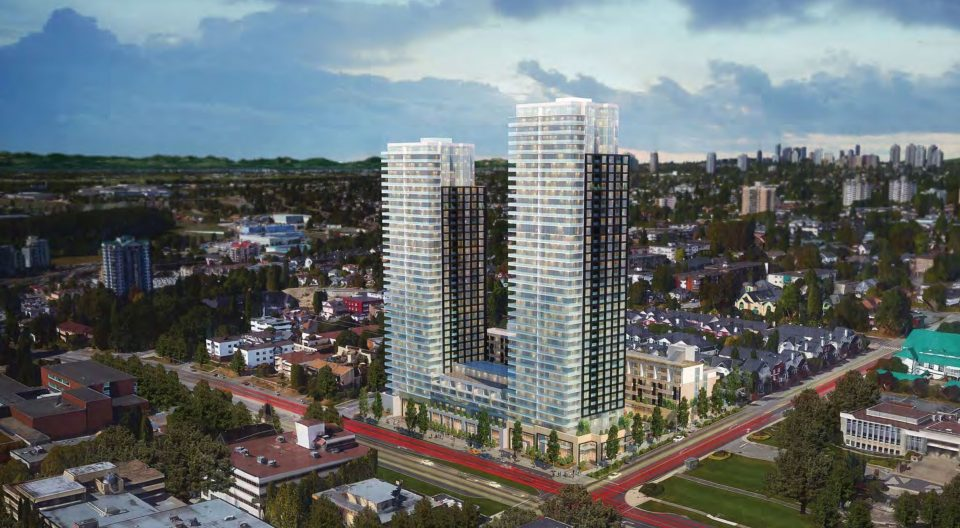Royal Towers replacement: Over 900 homes and 40 storeys proposed for New Westminster