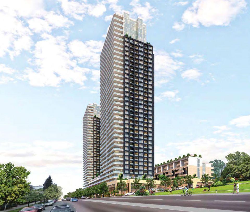 Tower rendering Royal Avenue
