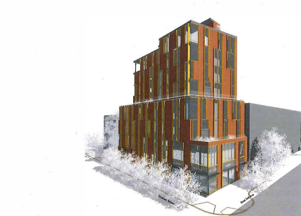 New I-1A zoning allows for eight-storey Mount Pleasant proposal