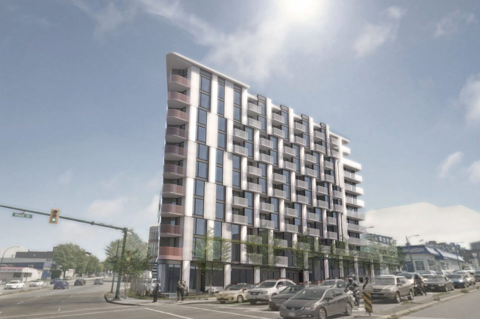 11-storey rental apartment building planned for Main and East 2nd