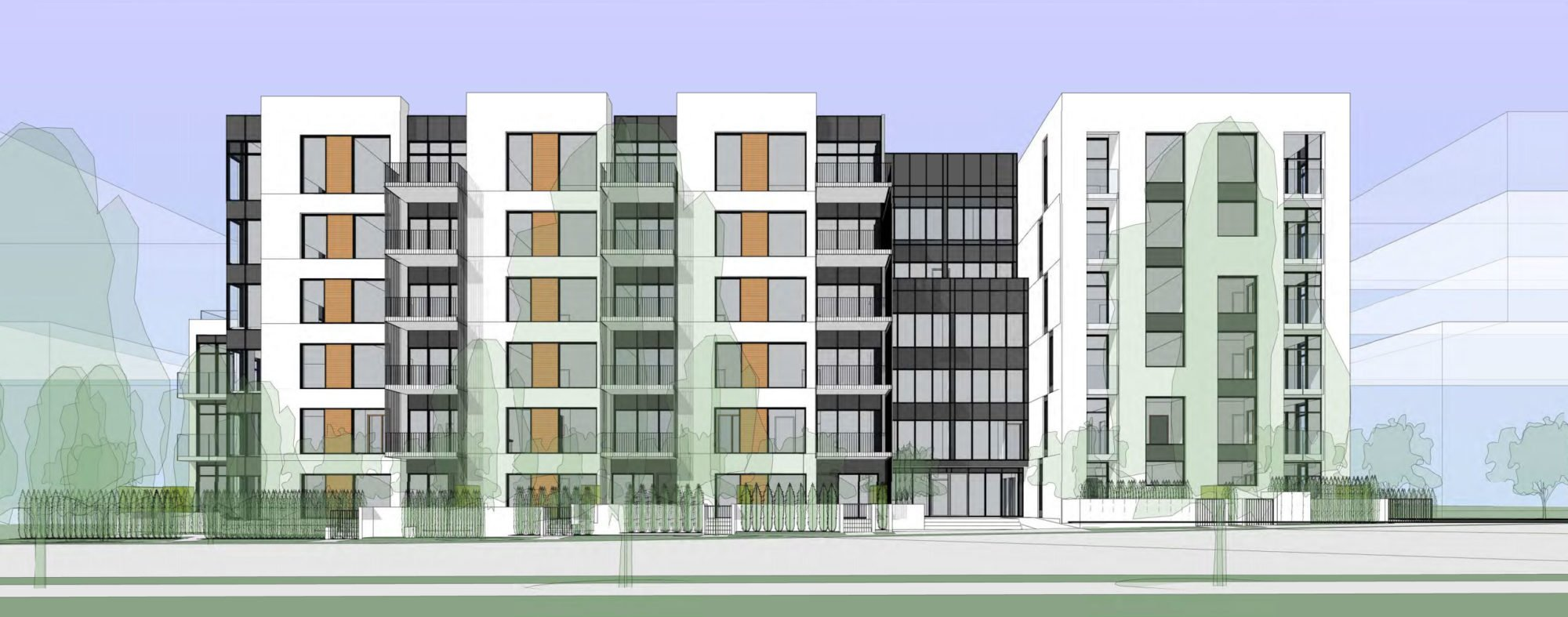Land assembly on East Broadway slated for 87-unit condo building