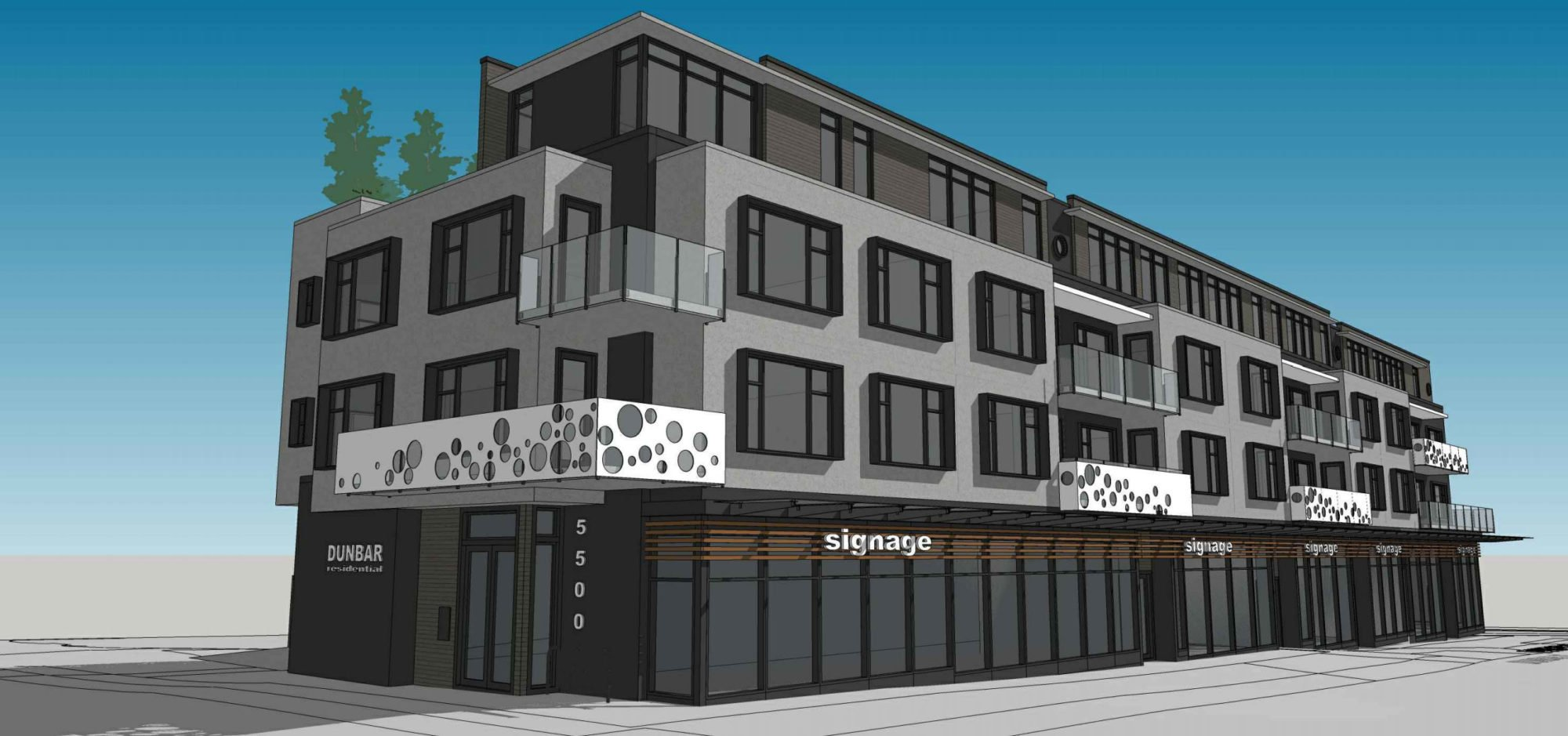 Condos, retail proposed for 5520 Dunbar Street in Dunbar-Southlands