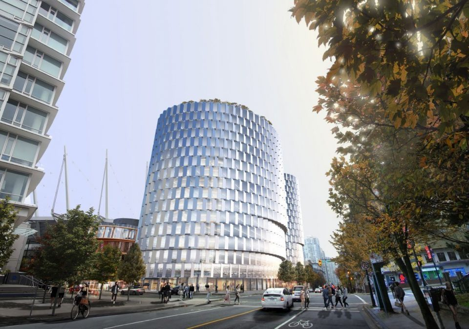 Bjarke Ingels Group behind transformation of downtown Vancouver steam plant site into office tower
