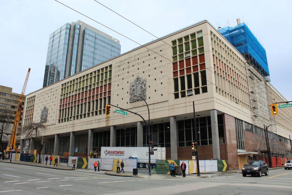 Construction progress The Post January 2019