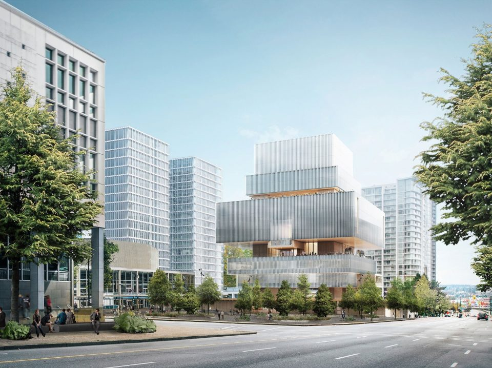 New Vancouver Art Gallery day