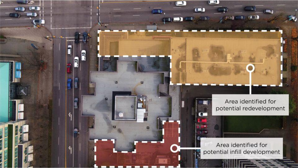 Plaza 500 Redevelopment Outline