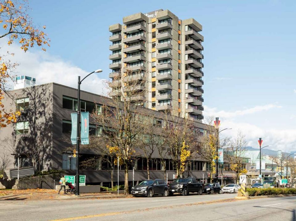 Plaza 500 at Cambie and West 12th for sale, new retail podium and tower possible