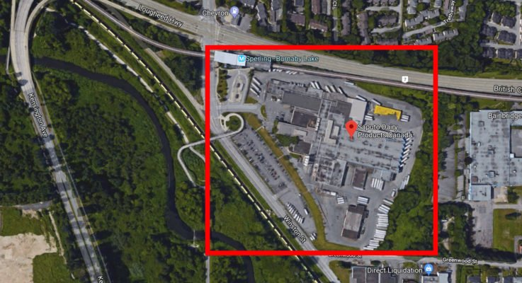 Saputo's Burnaby milk plant sold for $209 million, new town centre envisioned