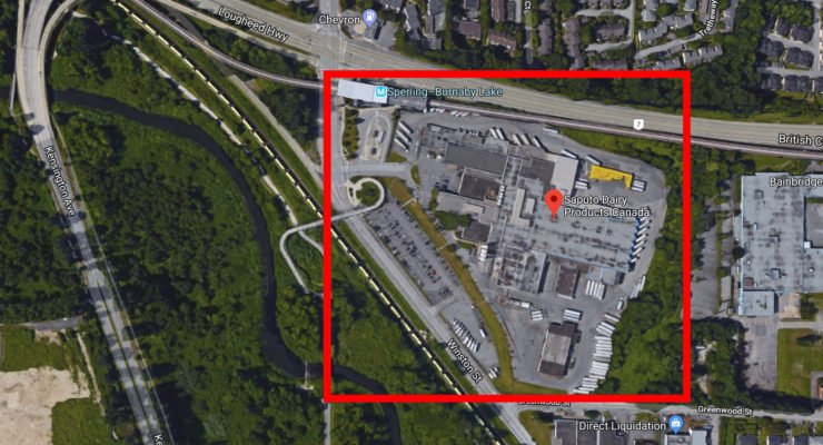 Saputo Burnaby milk plant sold