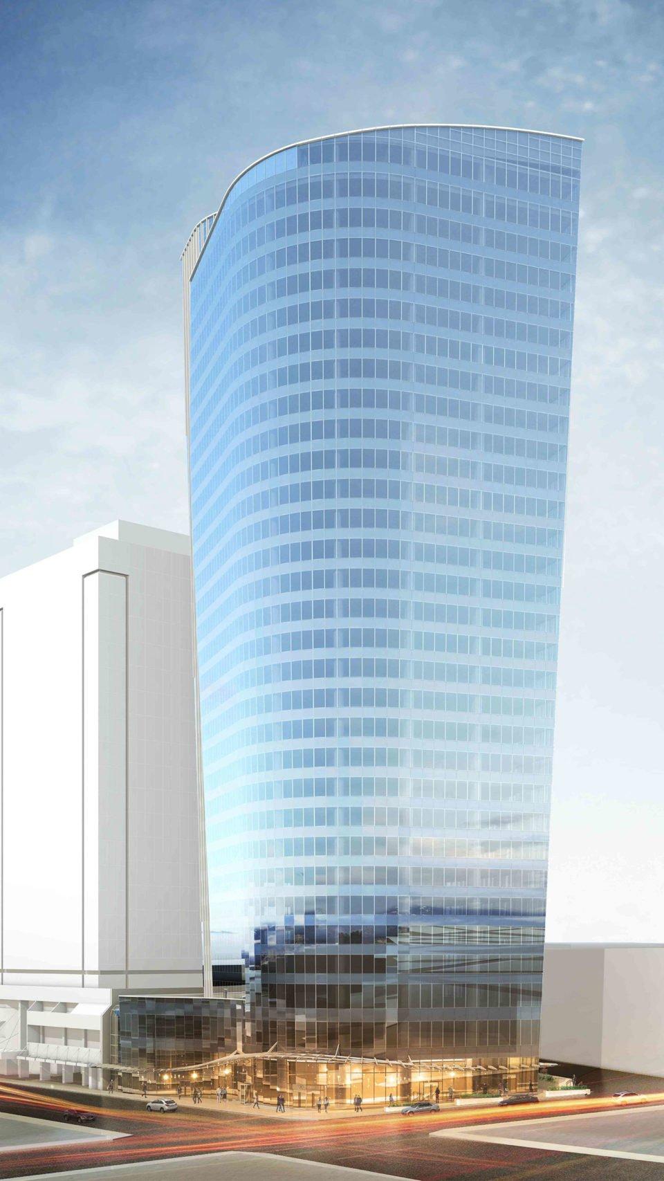1090 West Pender Street rendering