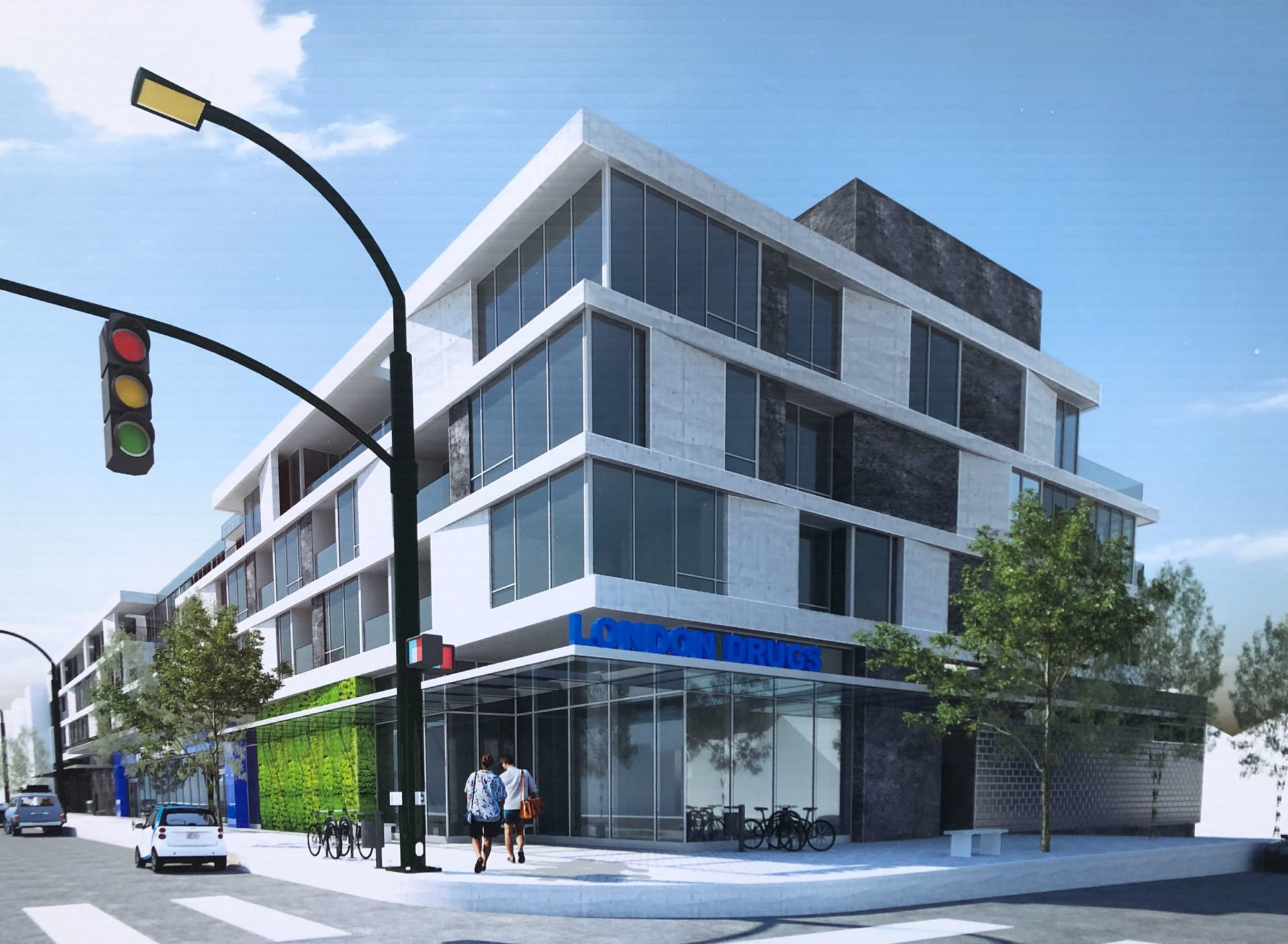 London Drugs slated for West 4th and Macdonald in Kitsilano