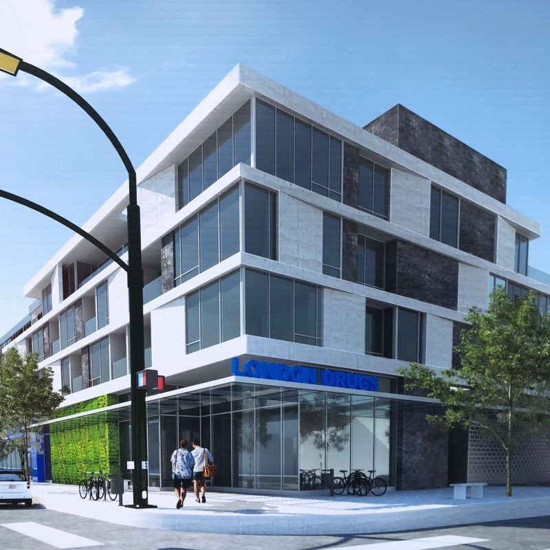 2803-2865 West 4th Avenue proposed building