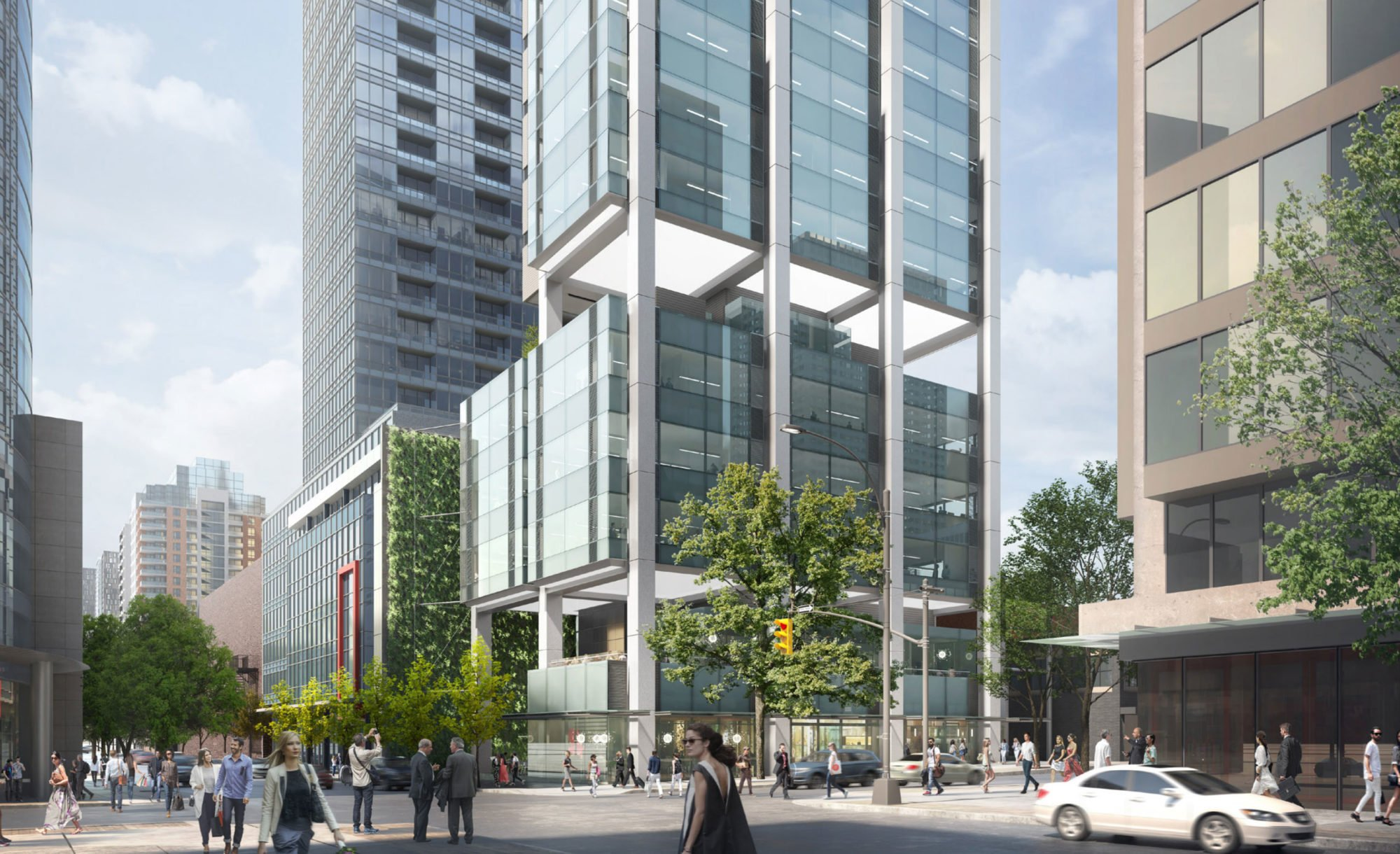 New office and retail building slated for corner of Robson and Seymour