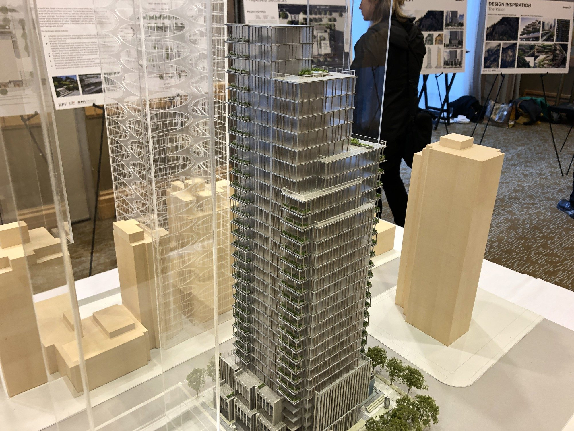 Anthem Properties unveils building model for West Georgia tower