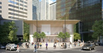 Downtown Vancouver Apple Flagship
