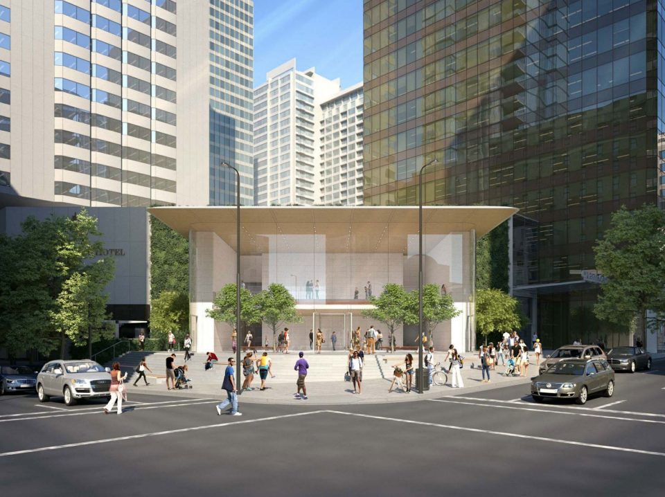 Could this be the design of Apple's downtown Vancouver flagship store?