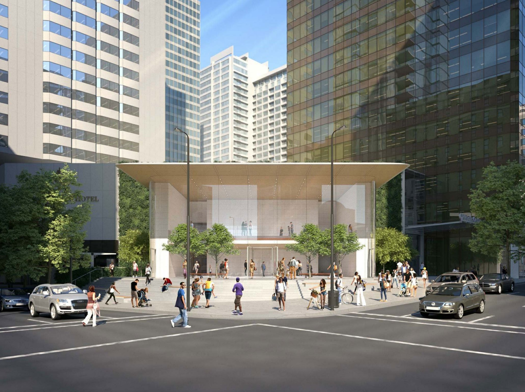 Could This Be The Design Of Apple S Downtown Vancouver Flagship Store Urbanyvr