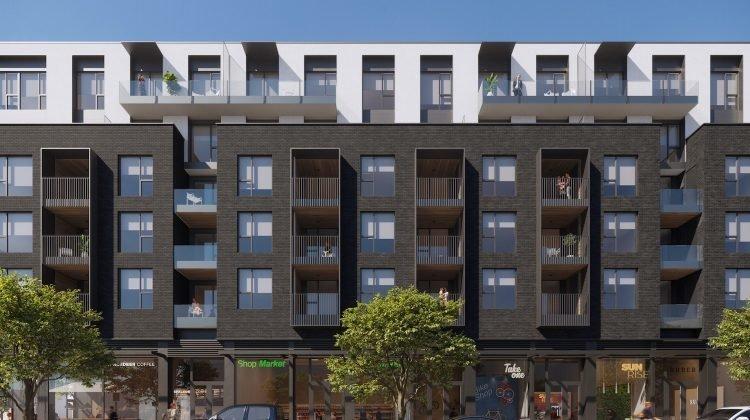 Fraser Street rentals rendering