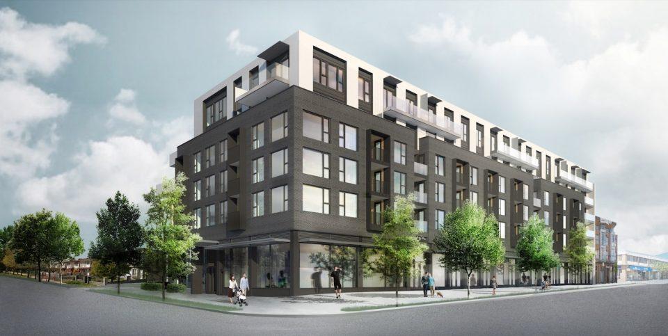 Fraser Street rentals rendering day