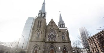 Holy Rosary Cathedral in Vancouver. Credit: Holy Rosary Cathedral