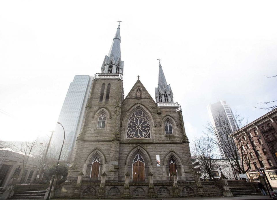 Historic Holy Rosary Cathedral in downtown Vancouver could see addition of 23-storey office tower