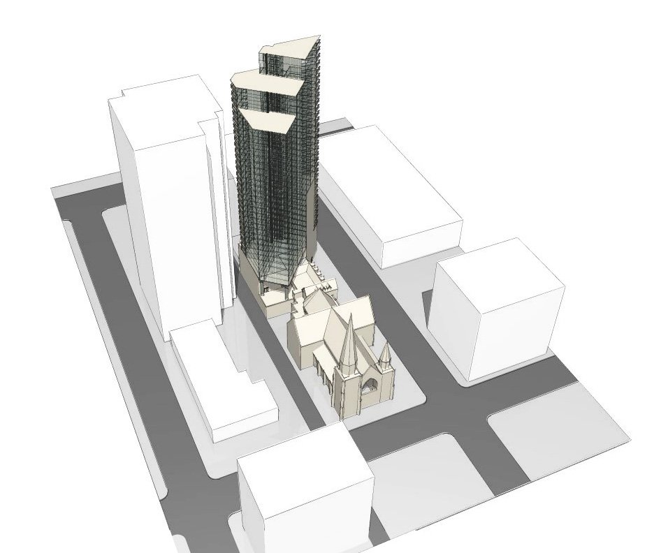 Holy Rosary tower proposal