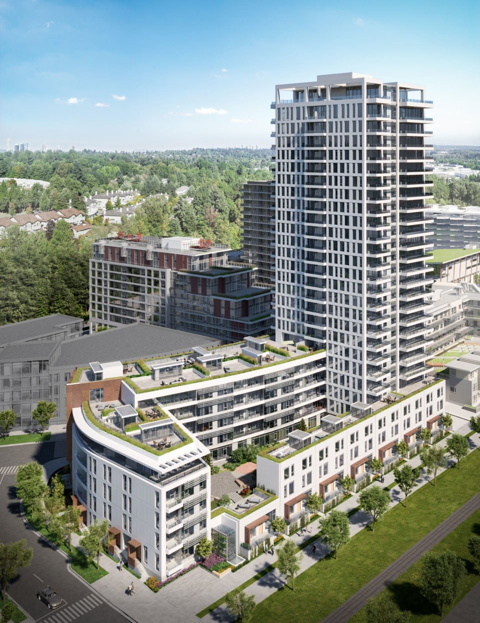 Tower rendering MODE at the River District