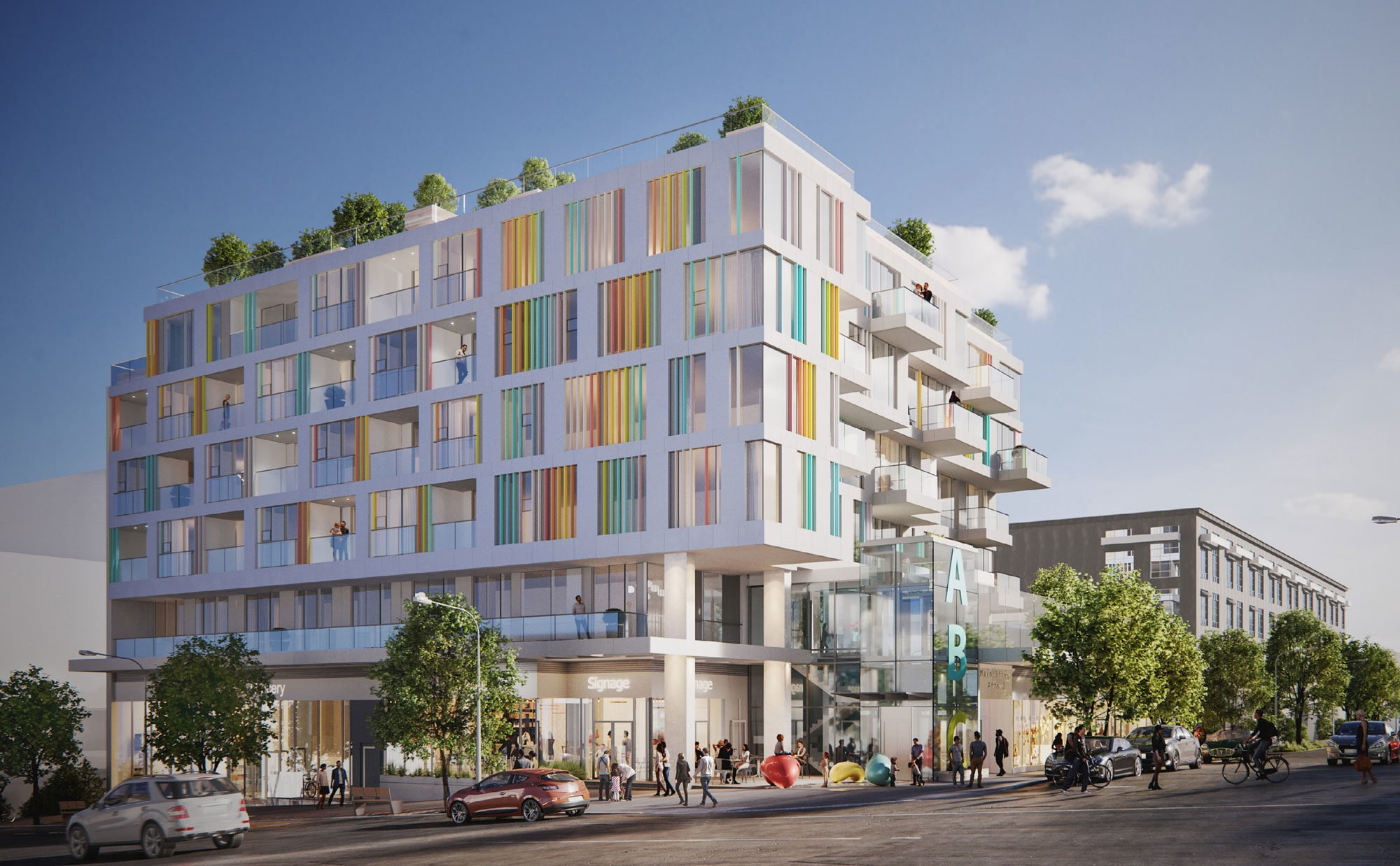 PortLiving plans 49-unit condo building and childcare facility in Mount Pleasant