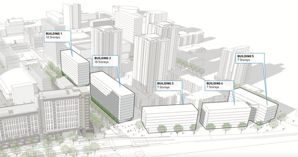 Five-building Pacific Residences at UBC to add 1,000 new student beds to campus