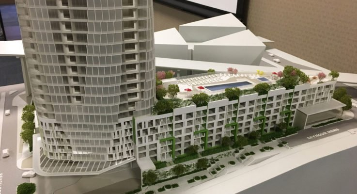 Pinnacle's Beach Crescent tower heads to higher building review panel Feb. 20