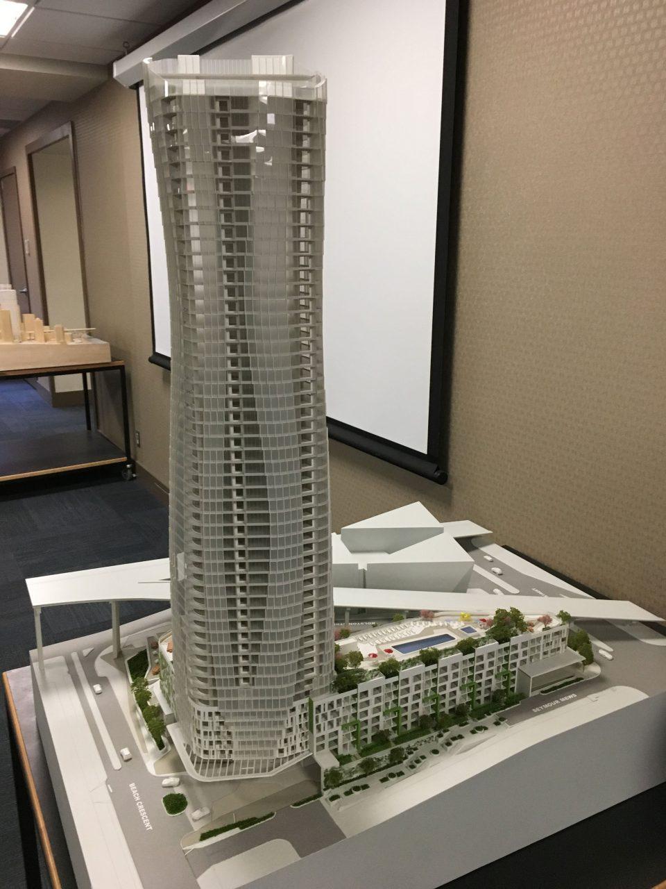 Tower model