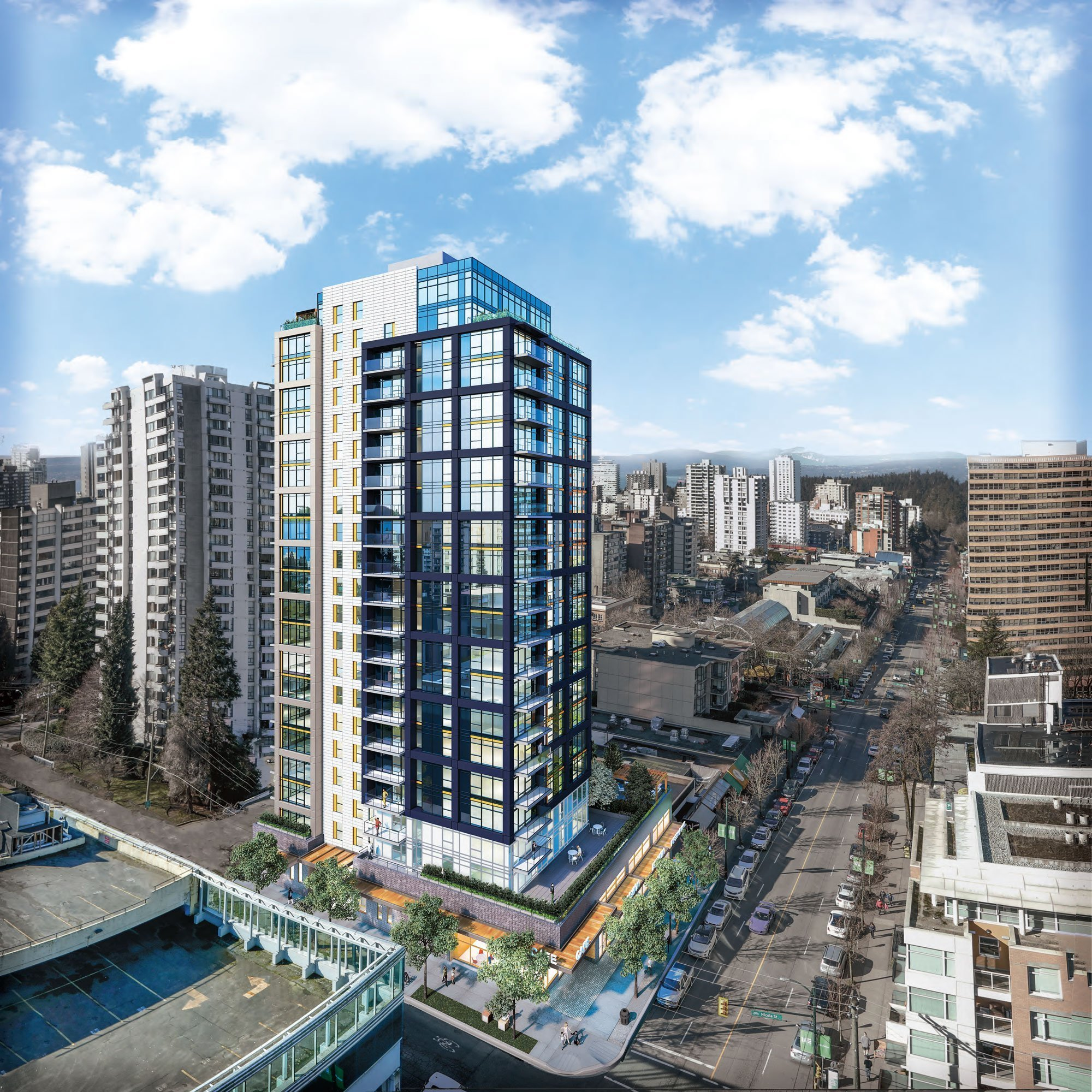 GWL breaks ground on new rental apartment tower at 1500 Robson Street