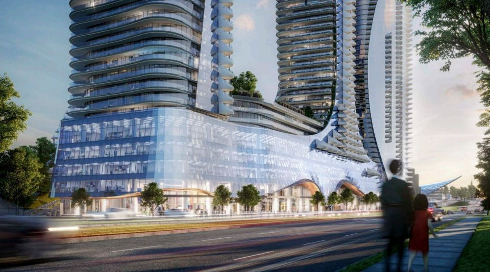 Design of towers six and seven at Oakridge revealed