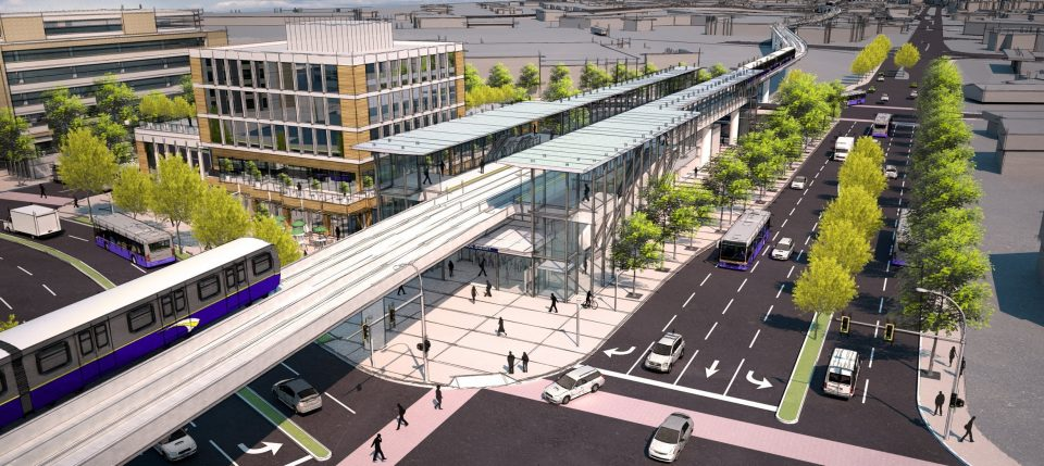 Two new renderings of SkyTrain extension to Langley released