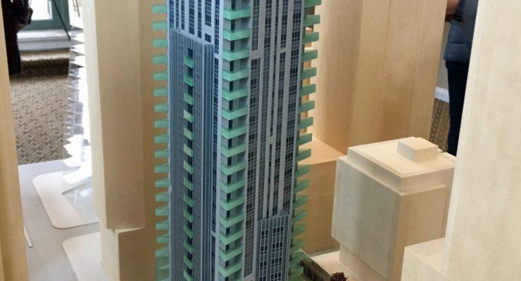 1290 Hornby Street tower model open house