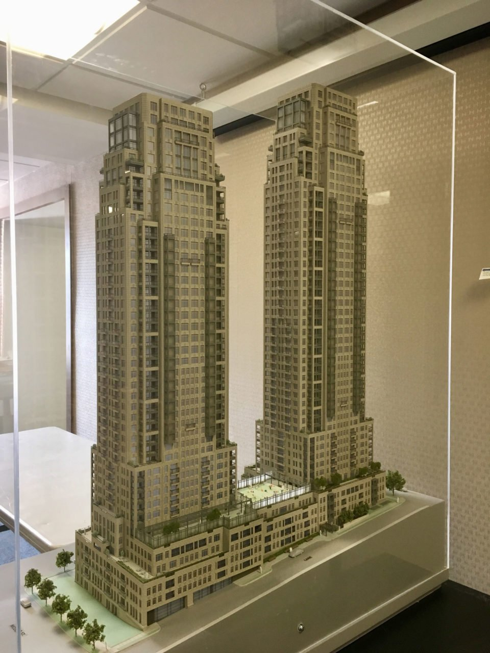 1444 Alberni Street tower models