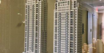 1444 Alberni Street tower models Alberni St
