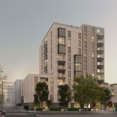 Anthem Burrard Slopes tower rendering