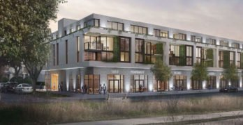 Building rendering 6020 East Boulevard