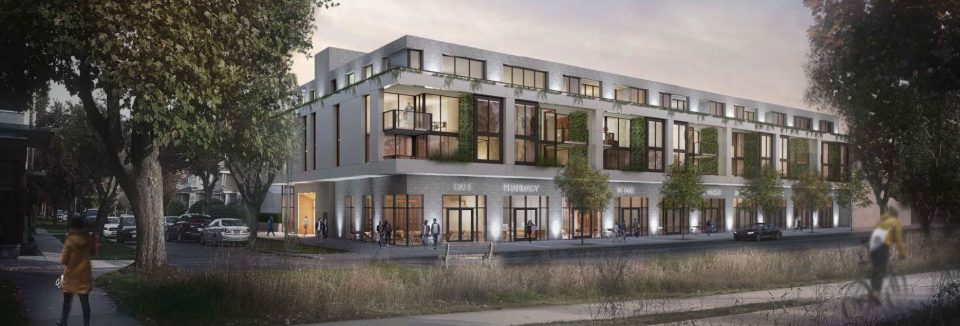 Boutique condominiums proposed for Kerrisdale corner