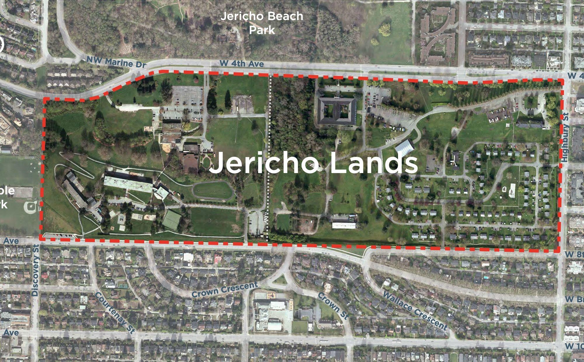Planning process for 90-acre Jericho Lands site begins