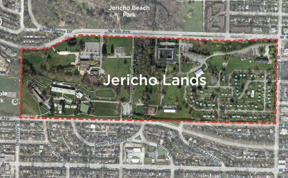 Planning process for 90-acre Jericho Lands site begins