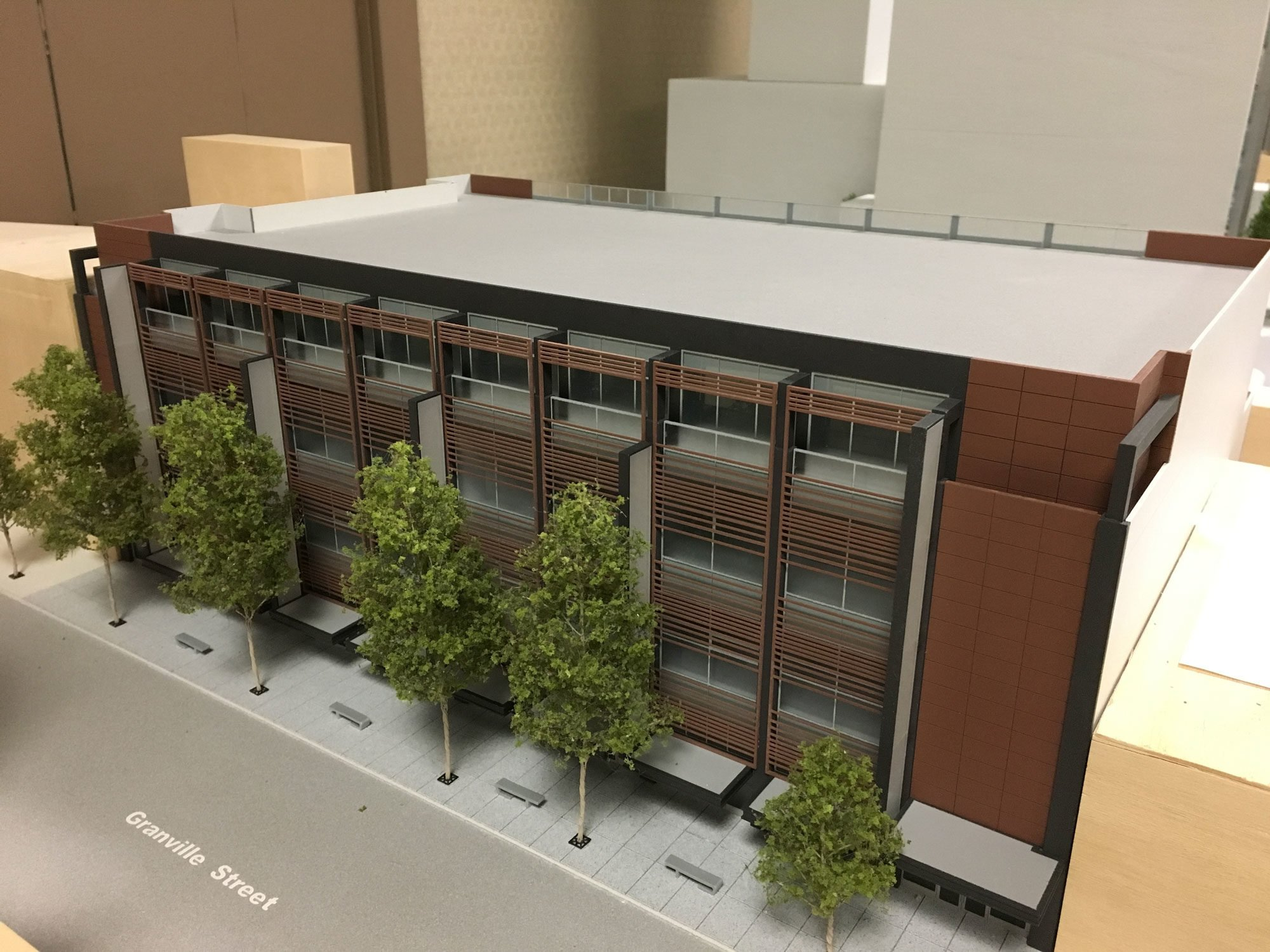 New building with large retail spaces proposed for Granville Street