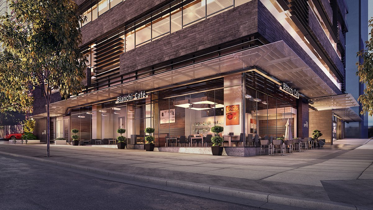 Construction of The Smithe by Boffo Developments reaches grade