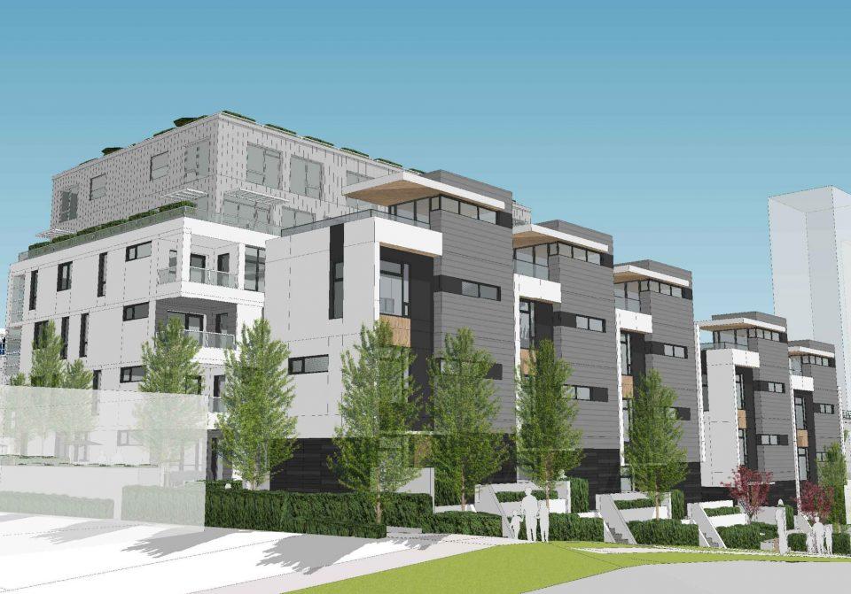 3235-3261 Clive Avenue townhouses