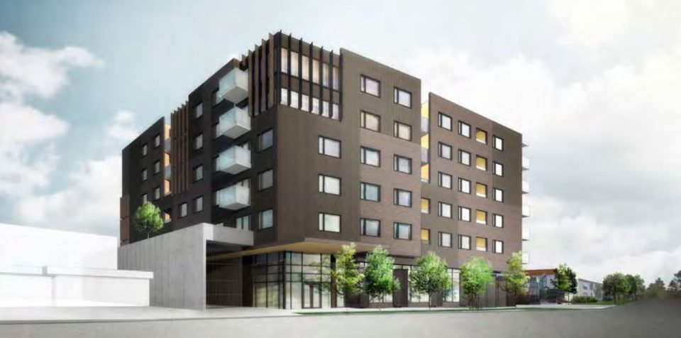 Strathcona building will blend light industrial with family-sized condos