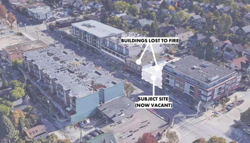 Kitsilano buildings lost to fire