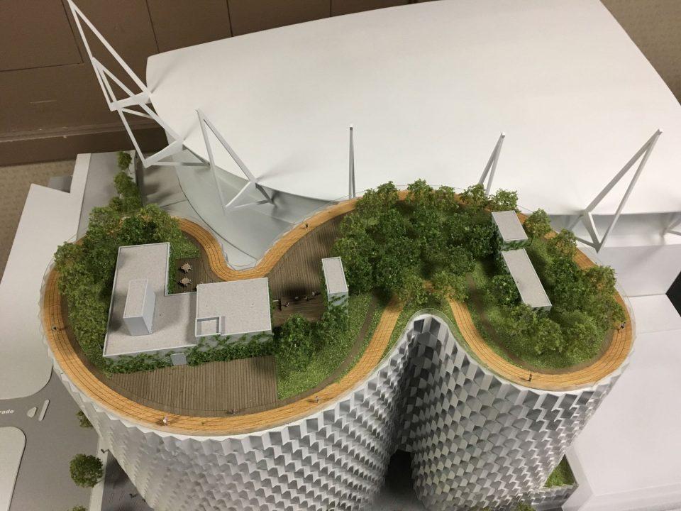 Central Steam Plant building model