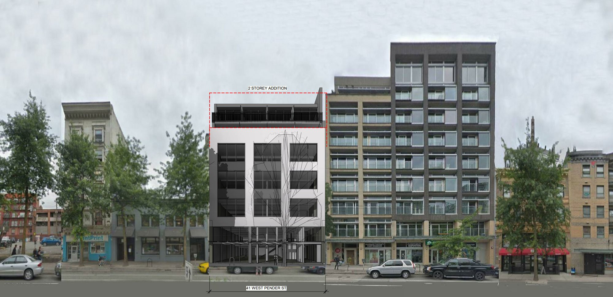 Chinatown warehouse to be converted into rental apartments
